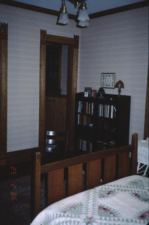 Primary view of object titled '[Captain Noble A Birge House, (Interior)]'.