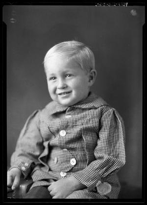 Primary view of object titled '[Portrait of Baby Boy]'.