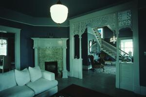 Primary view of object titled '[Danner Residence, (living room)]'.
