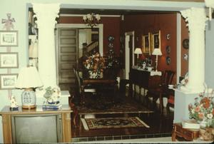 Primary view of object titled '[Lucas House, (Interior)]'.