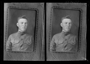 [Two Copies of Portrait of Man]
