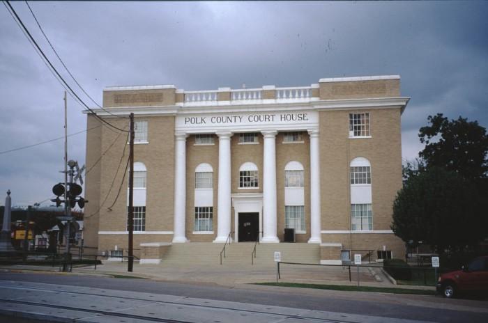 Polk County Courthouse & 1905 Annex] - The Portal to Texas