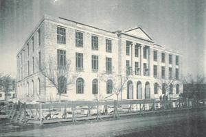 Primary view of object titled '[Lubbock P.O & Federal Building]'.
