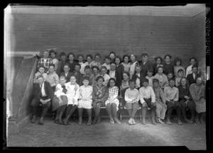 Primary view of object titled '[Class Portrait]'.