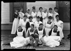 Primary view of object titled '[Girls Class Portrait]'.