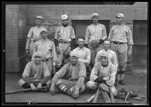 Primary view of object titled '[Baseball Team Portrait]'.