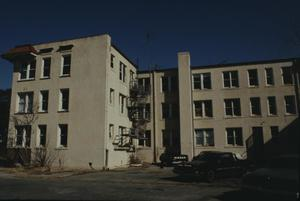 Primary view of object titled '[Sheridan Apts, (rear (south elevation))]'.