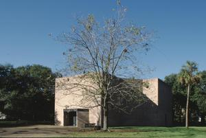 Primary view of object titled '[Rothko Chapel, (facing NW)]'.