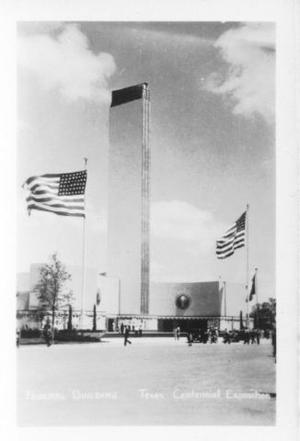Primary view of object titled '[Federal Building, Texas Centennial Exposition]'.