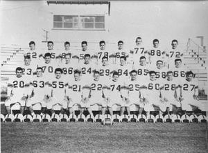Primary view of object titled '[Hereford High School Football Team]'.