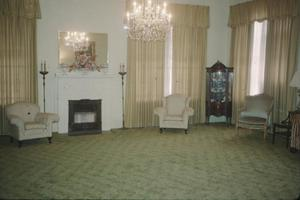 Primary view of object titled '[Beaumont Woman's Club, (drawing room, facing SE)]'.