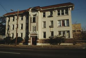 Primary view of object titled '[Sheridan Apts, (West Elevation)]'.