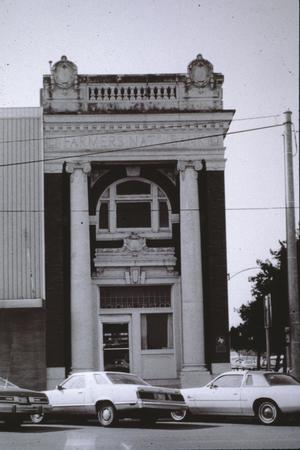 Primary view of object titled '[Pioneer Bank Building]'.