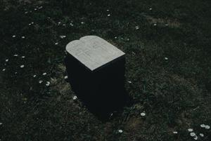 Primary view of object titled '[Llano Cemetery]'.