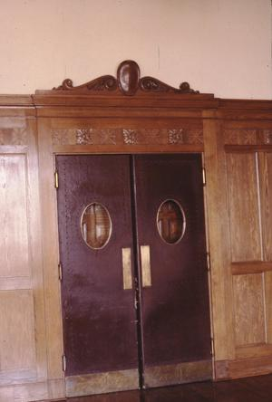 Primary view of object titled '[Lubbock P.O & Federal Building, (courtroom)]'.