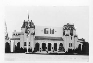 Primary view of object titled '[General Motors Building, Texas Centennial Exposition]'.
