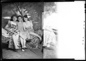 Primary view of object titled '[Portraits of Three Girls and a Woman]'.