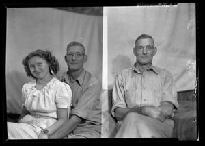Primary view of object titled '[Portraits of a Man and a Woman]'.
