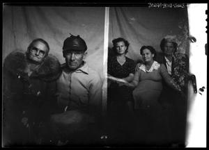 Primary view of object titled '[Portraits of a Man and Four Women]'.