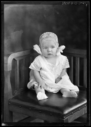 Primary view of object titled '[Portrait of Baby Girl]'.