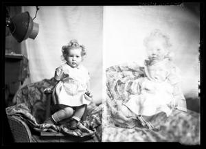 Primary view of object titled '[Portraits of Baby Girl]'.