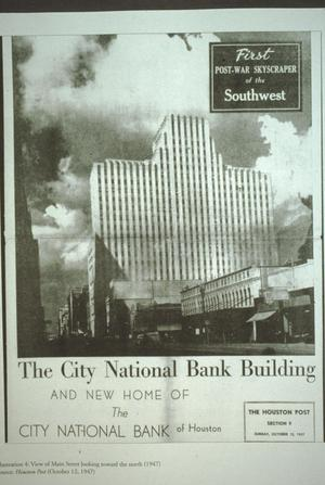 Primary view of object titled '[City National Bank]'.