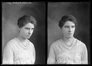 Primary view of object titled '[Portraits of Woman]'.