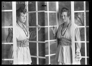 [Portraits of Woman by Window]