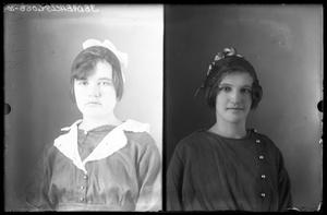 Primary view of object titled '[Portraits of Girls]'.