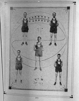 Primary view of object titled '[Basketball at Hereford High School]'.