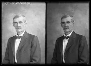 Primary view of object titled '[Portraits of Man with Moustache]'.