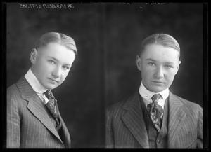 Primary view of object titled '[Portraits of Man in Suit]'.