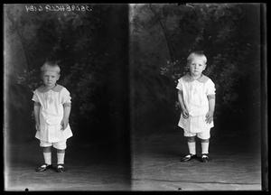 Primary view of object titled '[Portraits of Child]'.