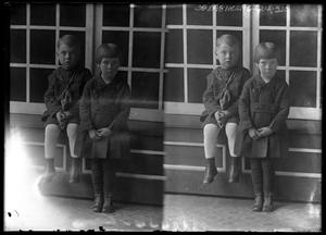Primary view of object titled '[Portraits of Children]'.