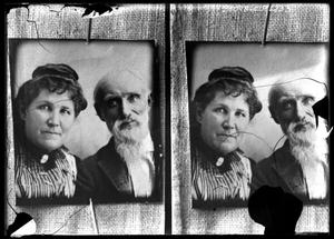 Primary view of object titled '[Portraits of Couple]'.