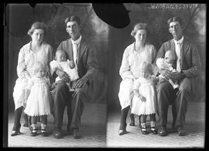Primary view of object titled '[Portraits of Family]'.