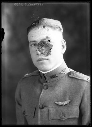 Primary view of object titled '[Portrait of Man in Uniform]'.