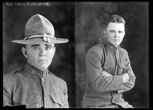 Primary view of object titled '[Portraits of Man in Uniform]'.