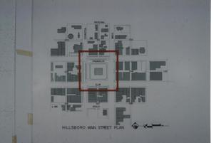 Primary view of object titled '[Hillsboro Main St plan]'.