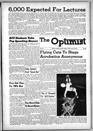 Primary view of object titled 'The Optimist (Abilene, Tex.), Vol. 40, No. 20, Ed. 1, Friday, February 20, 1953'.