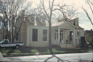 Primary view of object titled '[Monroe-Crook House, (restoration)]'.