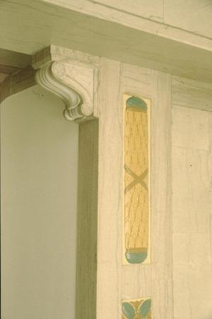Primary view of object titled '[1918 State Office Building, (interior detail)]'.