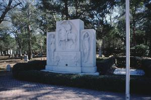 Primary view of object titled '[Sam Houston's Grave]'.