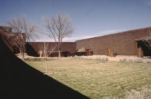 Primary view of object titled '[Faver Ranch - Cibolo, (view north of patio)]'.