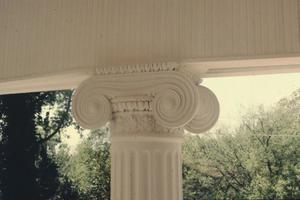 Primary view of object titled '[Ramey Granger House, (Column Detail)]'.