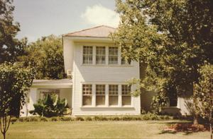 Primary view of object titled '[Howard & Vivain Lott House, (E view)]'.