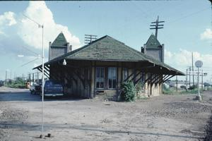 Primary view of object titled '[Southern Pacific R.R. Depot]'.