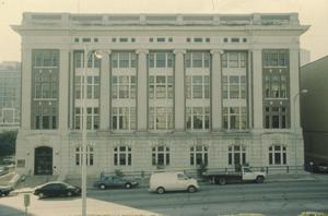 Primary view of object titled '[1918 State Office Building, (Exterior)]'.