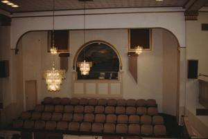 Primary view of object titled '[Tabernacle / Mt Pisgah Baptist Church, (auditorium, choir loft, baptistry)]'.