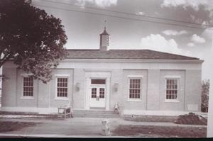 Primary view of object titled '[Arlington Post Office]'.